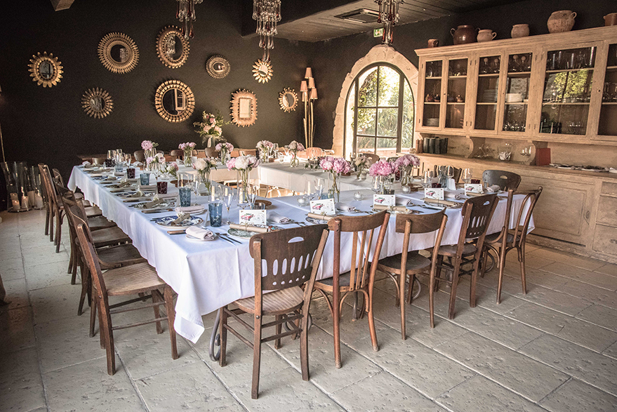 Dcoration Table Mariage Provence